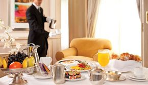 Butler Breakfast in Suite