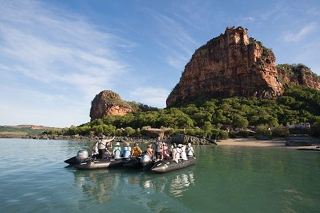 Silversea Luxury Cruises - Zodiac Expedition, the Kimberley