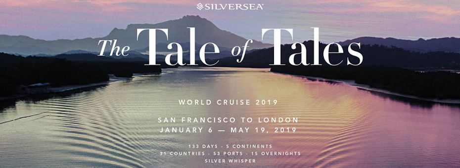 TO THE CURIOUS: SILVERSEA GIFTS THEIR GUESTS WITH  THE EXCLUSIVE TALE OF TALES ANTHOLOGY