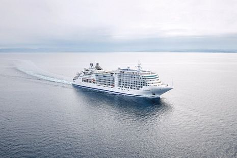 A NEW MOON RISES: SILVERSEA'S SILVER MOON UNDERGOES SEA TRIALS