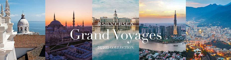 SILVERSEA CRUISES UNVEILS FIVE PIONEERING GRAND VOYAGES AMONG 315 NEW ITINERARIES FOR 2022-2023