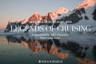LEGENDS OF CRUISING 2020: SILVERSEA GUESTS EMBARK ON THE FIRST-EVER 7-CONTINENT WORLD CRUISE