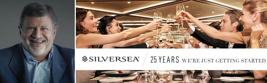 INTRODUCING FERNANDO DE OLIVEIRA:  25 YEARS AT THE HEART OF SILVERSEA CRUISES