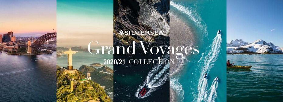 SILVERSEA LAUNCHES UNPRECEDENTED COLLECTION OF GRAND VOYAGES  INCLUDING THREE GRAND EXPEDITIONS