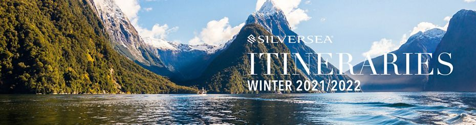 EXCLUSIVE PRE-SALE NOW OPEN:  SILVERSEA UNVEILS 86 NEW VOYAGES FOR WINTER 2021/2022