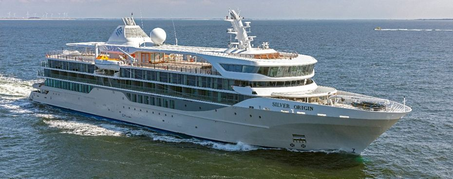 DE HOOP DEFIES THE ODDS: SILVERSEA PREPARES TO TAKE DELIVERY  OF NEW SHIP SILVER ORIGIN