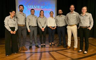 SILVERSEA'S PIONEERING EXPEDITION TRAINING ACADEMY WELCOMES EXPERTS FROM THE GALAPAGOS