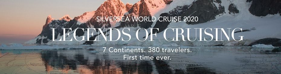 SILVERSEA ANNOUNCES ONBOARD TEAM FOR ITS WORLD CRUISE 2020  PLUS AN UNPRECEDENTED COLLECTION OF EXCLUSIVE EXPERIENCES