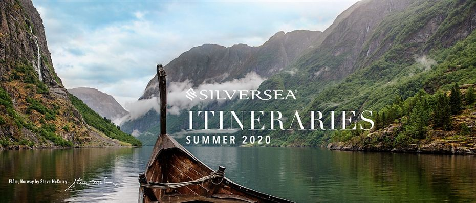 SILVERSEA ANNOUNCES GROUNDBREAKING NEW SUMMER 2020/WINTER 2021 ITINERARIES  AND OPENS PRE-SALE EXCLUSIVELY TO VENETIAN SOCIETY MEMBERS