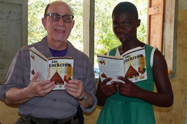 SILVERSEA GUEST DONATES TIME TO TEACH  STUDENTS HE MET WHILE ON A VOYAGE IN AFRICA