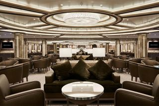 LAST PORT OF CALL: SILVERSEA'S SILVER SPIRIT DOCKS IN DUBAI AHEAD OF AMBITIOUS LENGTHENING PROJECT IN ITALY