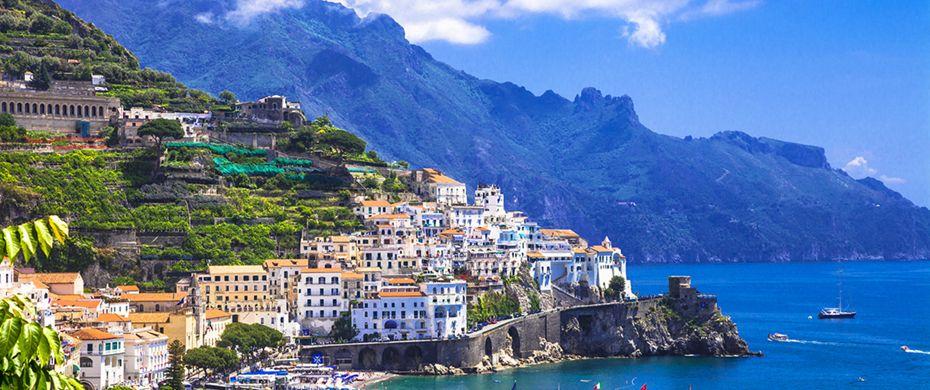 Silversea Luxury Cruises - Amalfi Coast, Italy