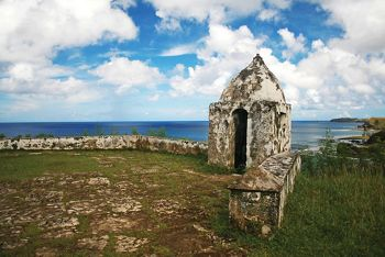 Silversea Luxury Cruises - Fort Nuesta Senora de Soledad, Umutac, Guam