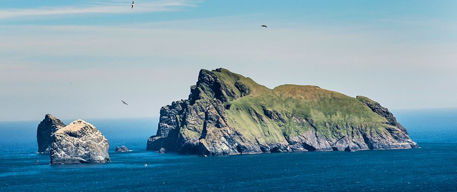 Boreray Island cruising