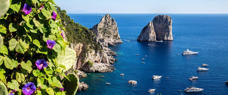 Silversea Luxury Cruises - Capri, Italy