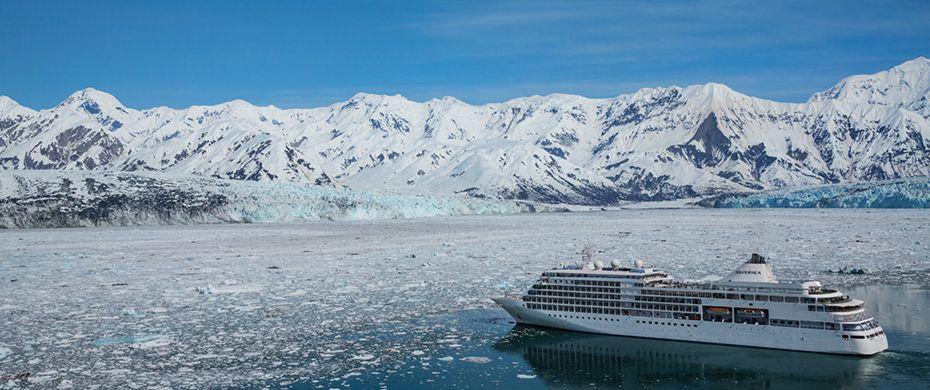 Silver Shadow Hubbard Glacier - Alaska