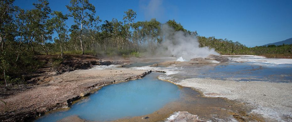 Dei Dei Hot Springs, Fergusson Island