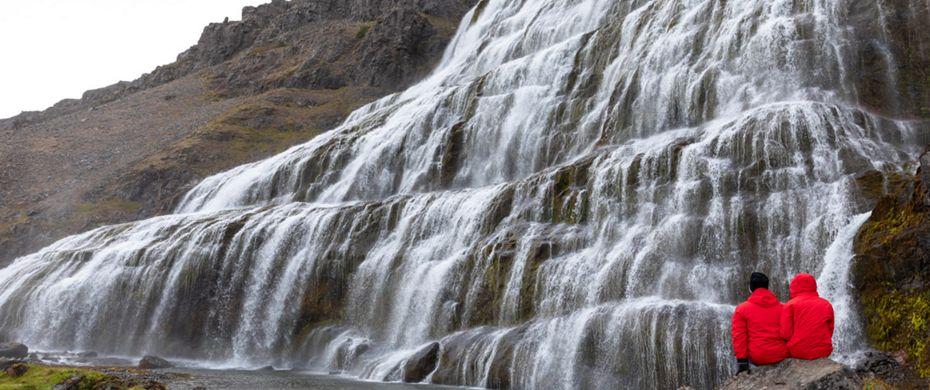 Silversea Luxury Cruises - Dynjandi Waterfalls