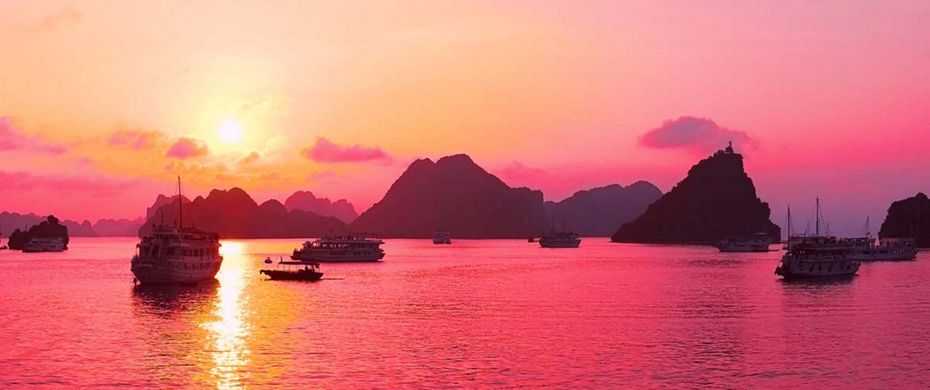 Silversea Luxury Cruises - Ha Long Bay, Vietnam