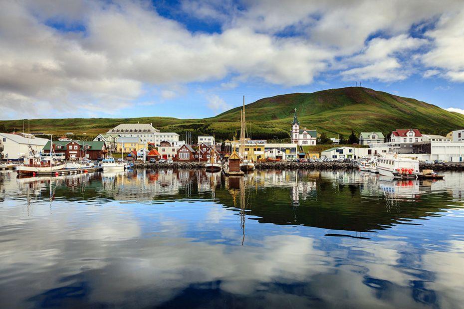 1913 - London à Reykjavik