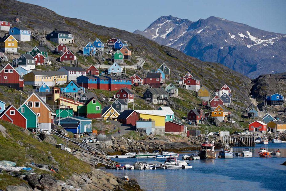 1921 - Kangerlussuaq a Quebec City