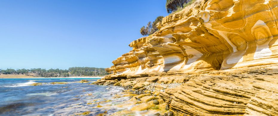 Silversea Luxury Cruises - Maria Island, Tasmania