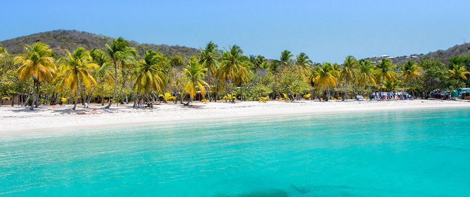 Silversea Luxury Cruises - Mayreau Island