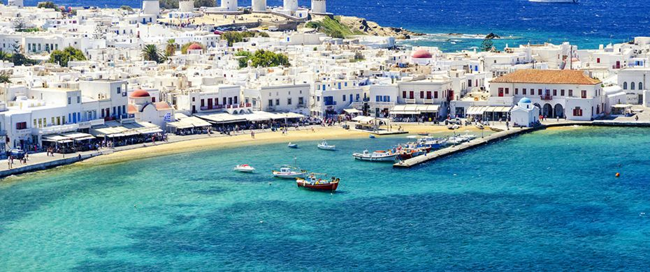Silversea Luxury Cruises - Mykonos, Greece