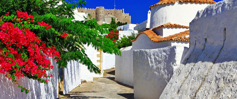 Silversea Luxury Cruises - Patmos, Greece