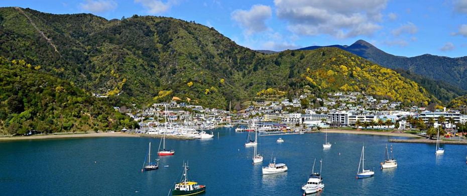 Silversea Luxury Cruises - Picton, New Zealand