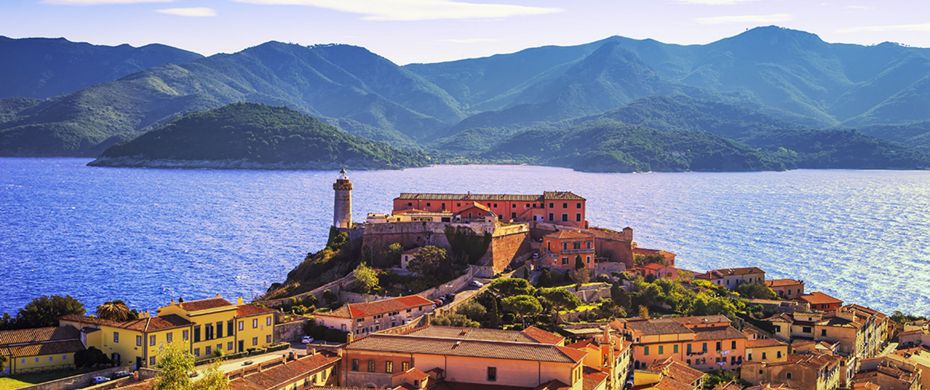 Silversea Luxury Cruises - Portoferraio, italy