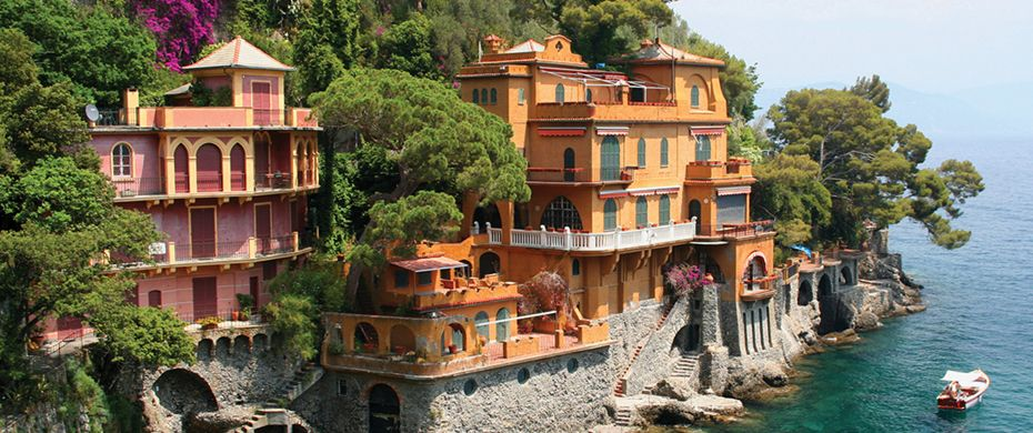 Silversea Luxury Cruises - Portofino, Italy
