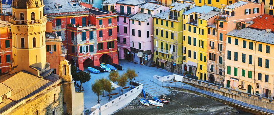 Silversea Luxury Cruises - Cinqueterre, Italy