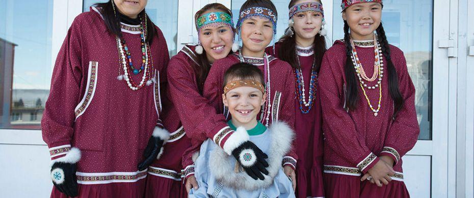 Cultural performance - Provideniya, Russia