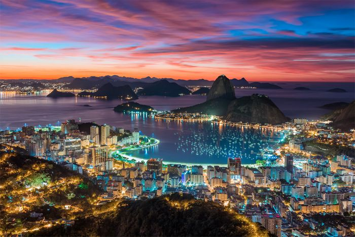 Luxury Cruise from RIO DE JANEIRO to FORT LAUDERDALE ...