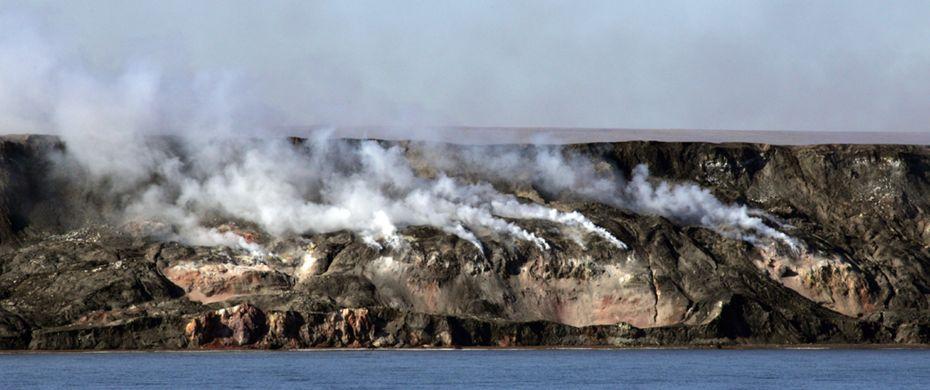 SMOKING HILLS (Northwest Territories)