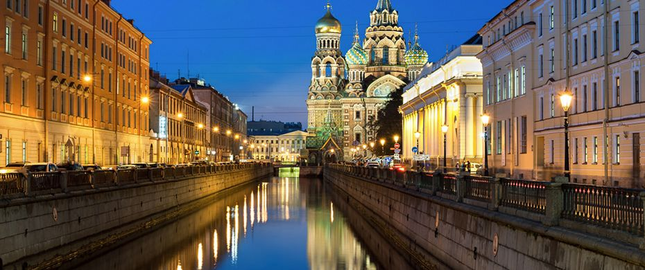 Silversea Luxury Cruises - St Petersburg, Russia