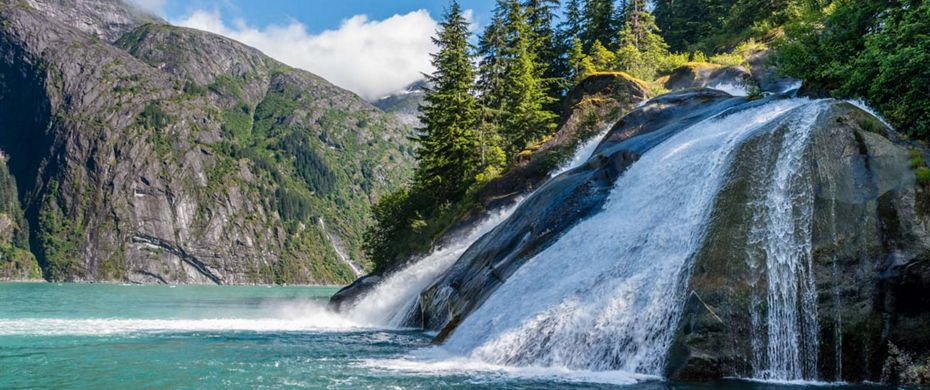 Silversea Luxury Cruises - Tracy Arm, Alaska, USA