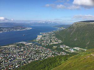 Teen girls in Tromso