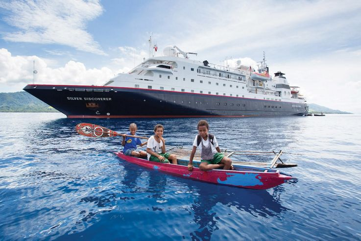 Silversea Small Luxury Cruise Ship - Silver Discoverer