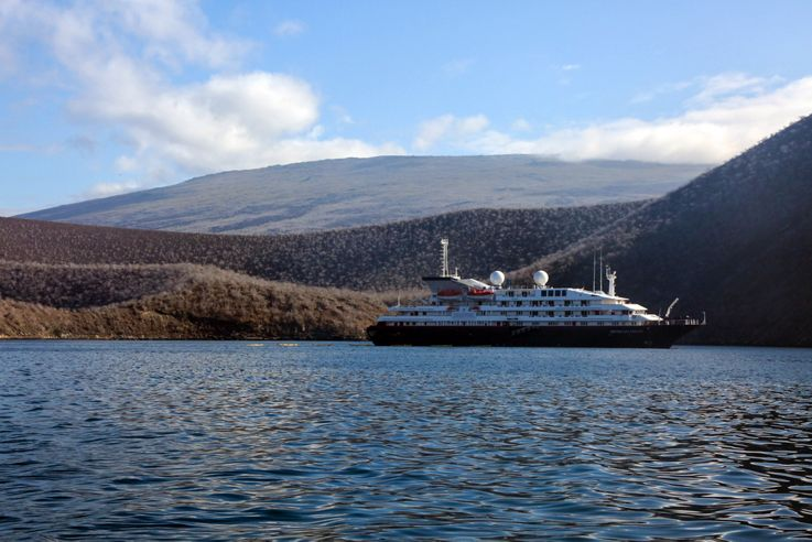 Silversea Small Luxury Cruise Ship - Silver Galapagos