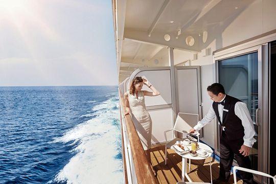 Luxus an Bord