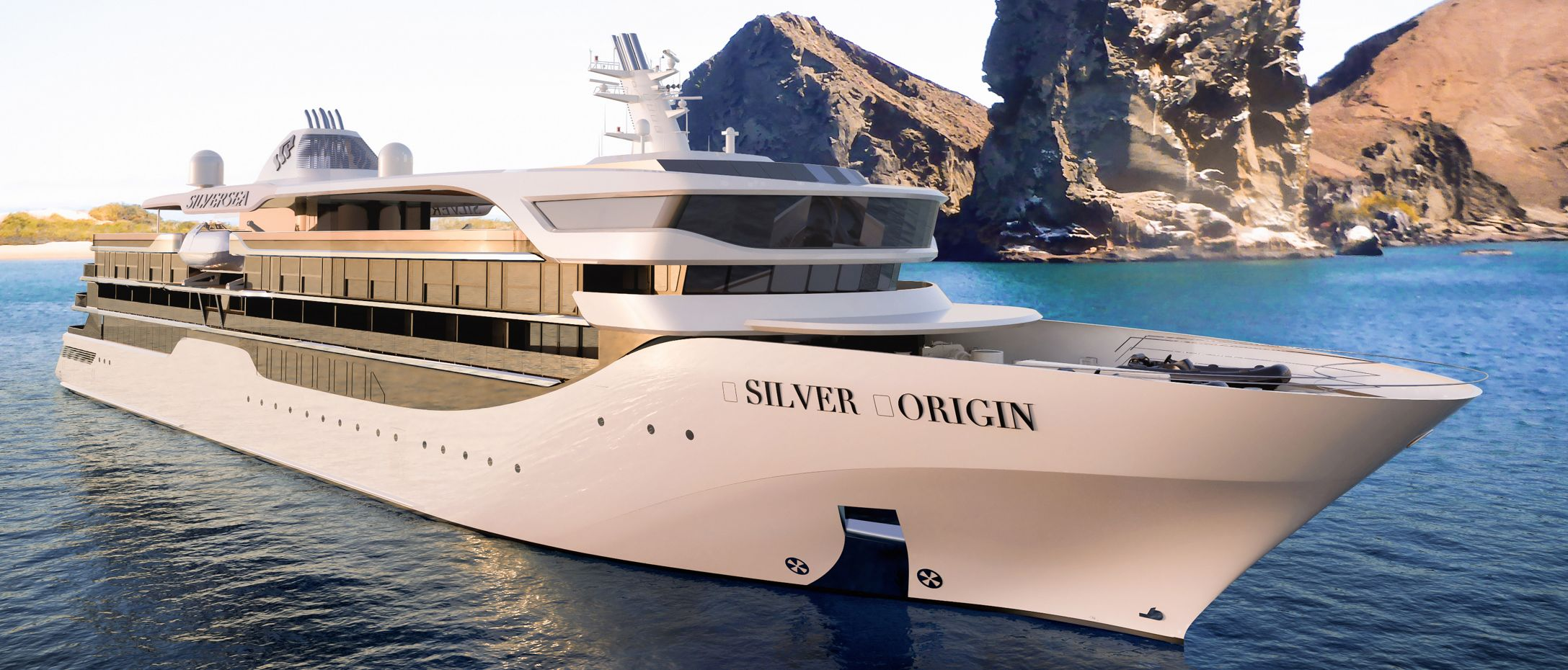 SILVERSEA UNVEILS THE MOST ELEGANT SHIP EVER TO SAIL THE GALAPAGOS