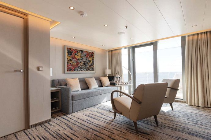 Royal Suite - A Majestic Suite onboard