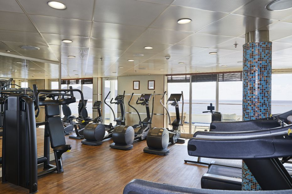 Silver Shadow - Fitness Center