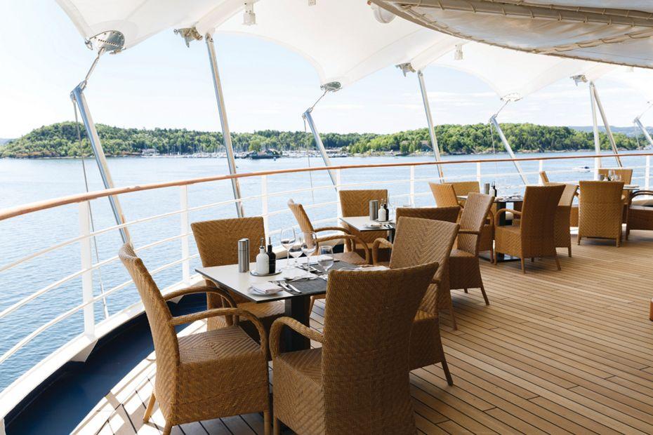 La Terrazza Silver Spirit Silversea Luxury Cruises Silversea
