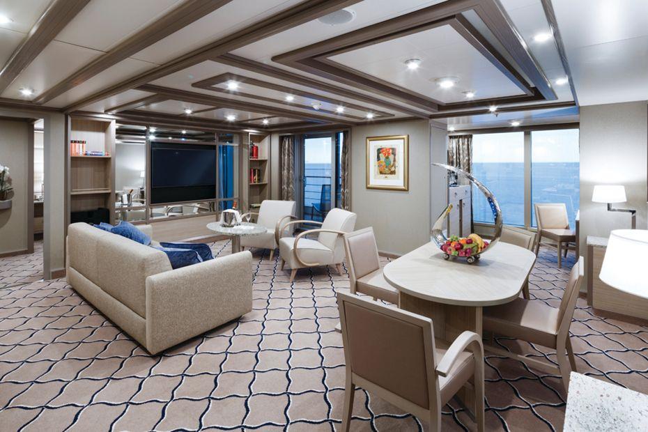 Onboard luxury