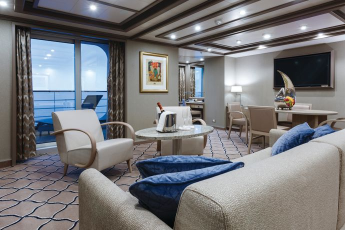 Silver Spirit - Owner's Suite