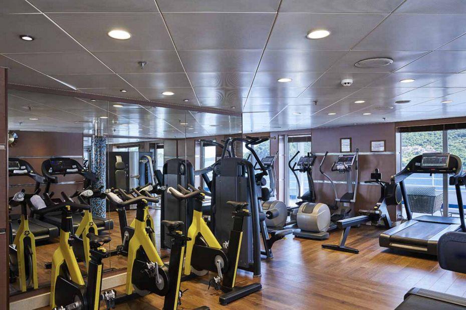 Silver Whisper - Fitness Center