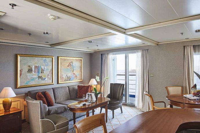 Silver Whisper - Grand Royale Suite